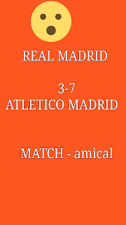 Match football amical victoire historique de Atletico Madrid face real Madrid