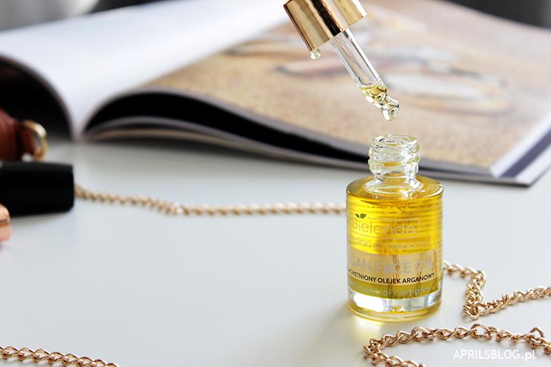 bielenda olejek arganowy face oil