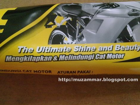 "Berburu Kit paste wax si ""pengkilap"" body motor"
