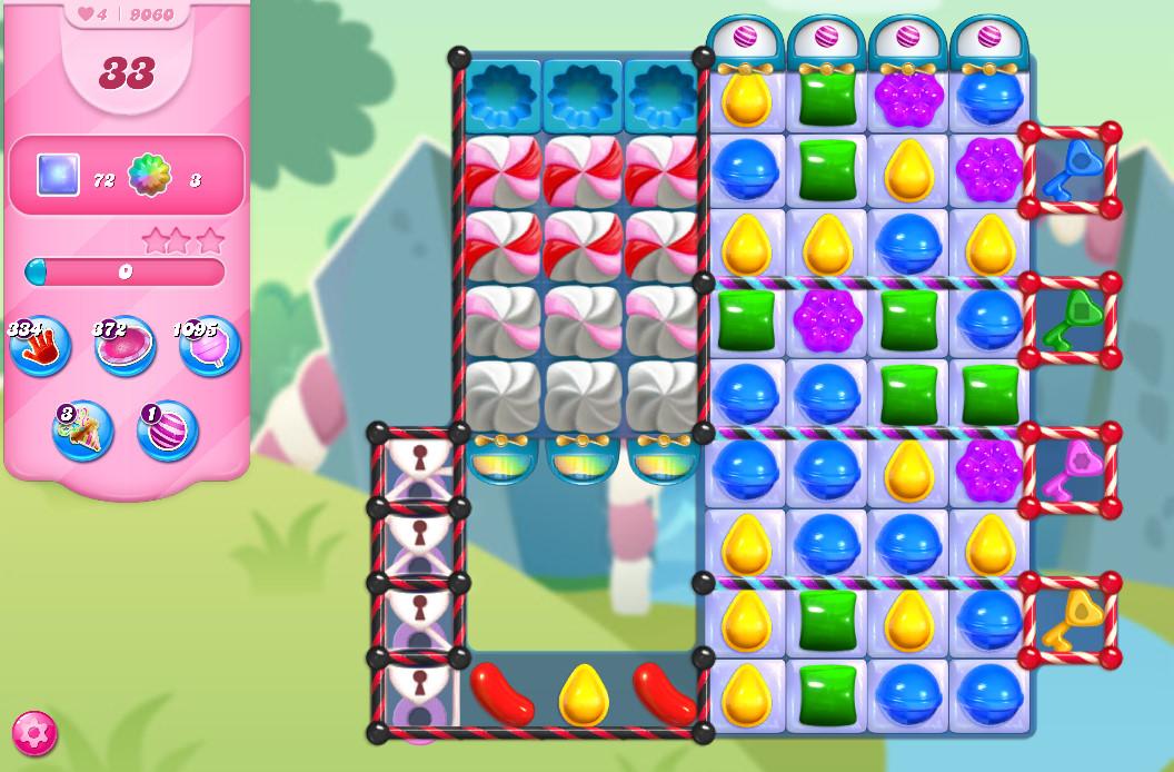 Candy Crush Saga level 9060