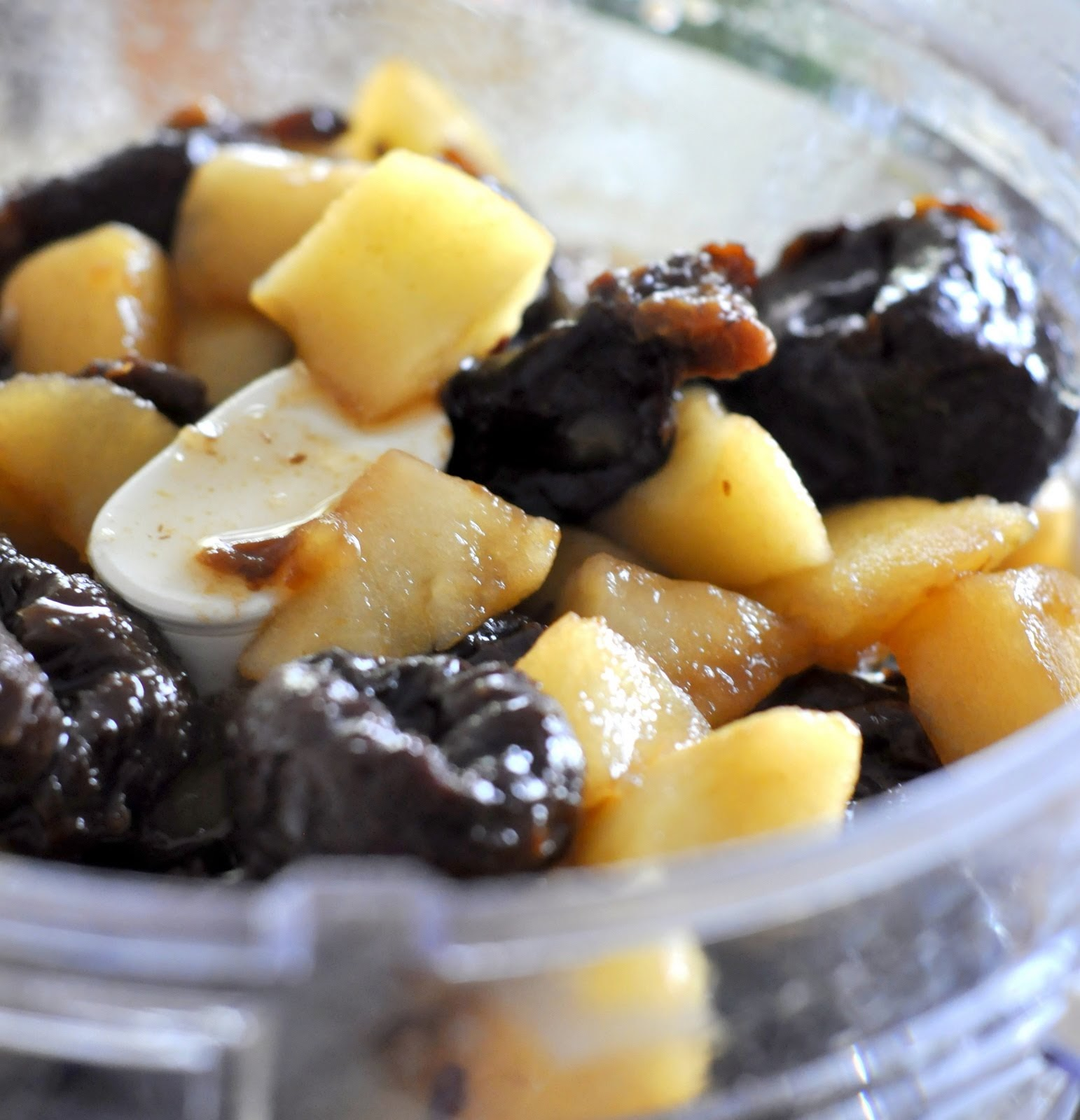 Cooked Apples and Prunes | Taste As You Go