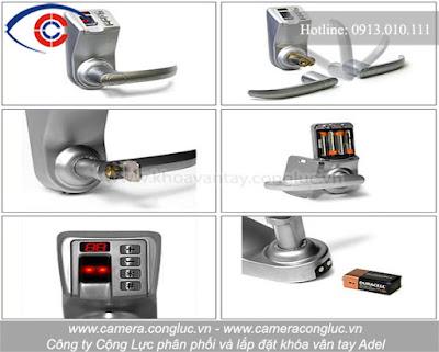 Khóa vân tay Adel luôn được thiết kế sao cho an toàn và tiện lợi nhất cho người sử dụng.