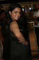Wamiqa Gabbi in a sleeveless Black Designer Transparent Gown at 64th Jio Filmfare Awards South ~  Exclusive 113.JPG