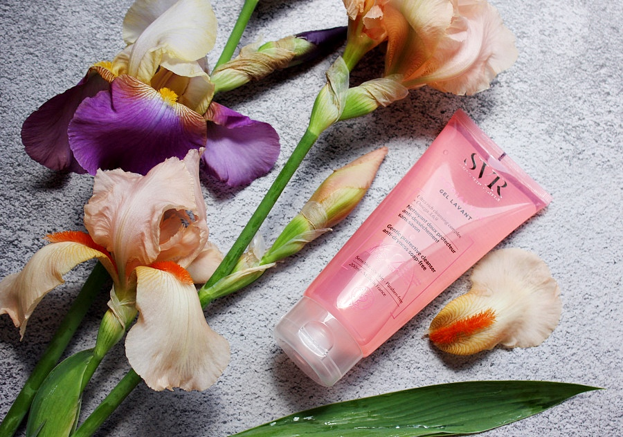 Очищающий гель для сухой и чувствительной кожи SVR Topialyse Gel Lavant / обзор, отзывы