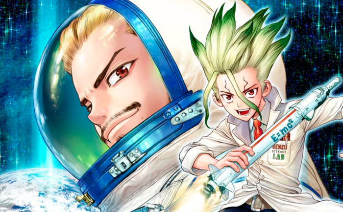 Dr. Stone Reboot: Byakuya manga - Boichi