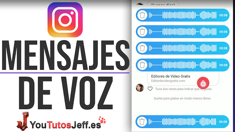 Enviar Mensajes de Audio por Instagram - Trucos Instagram