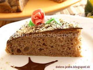 Jednoduchý gaštanový koláč - recepty