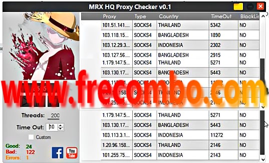 HQ Proxy Checker + Specific Sites Proxy Checker V0.1
