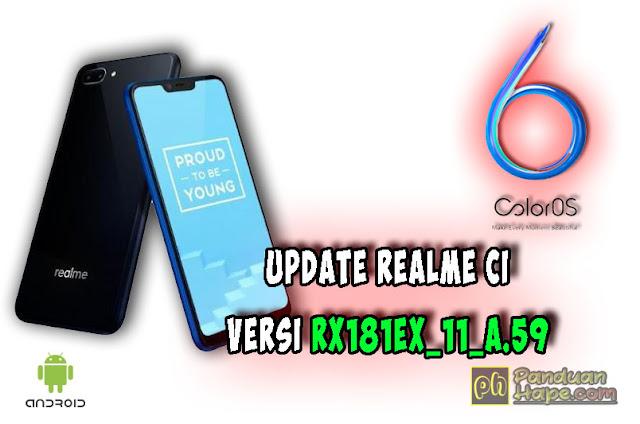 update realme c1 versi RX181EX_11_A.59