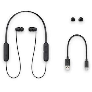 merk earphone terbaik Sony Wireless In-ear Headphones WI-C200