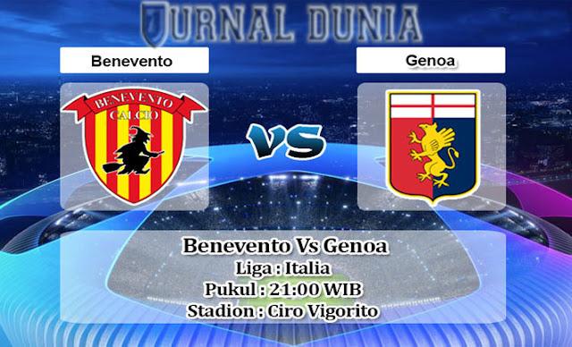 Prediksi Benevento vs Genoa, Minggu 20 Desember 2020 Pukul 21.15 WIB