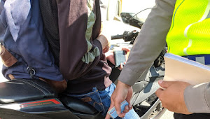 Pengguna Knalpot Bising Ditindak Tegas Unit Lantas Polsek Andir Polrestabes Bandung