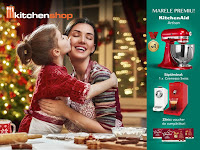 Castiga un KitchenAid Artisan + vouchere de cumparaturi
