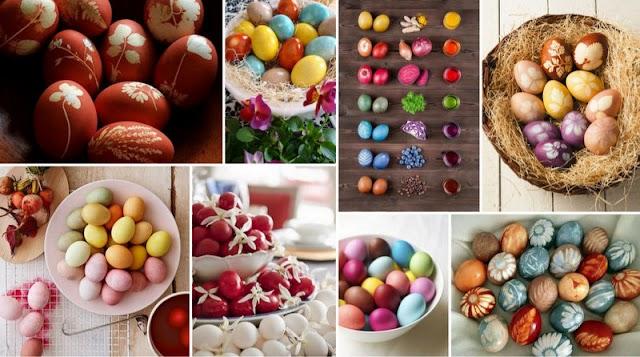 Πασχαλινά Αυγά: Παραδοσιακό & Οικολογικό Βάψιμο