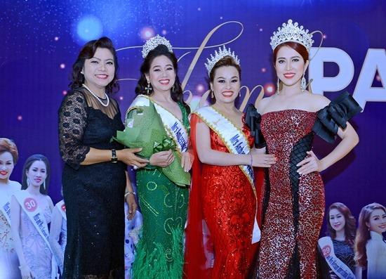 Đêm vinh danh Hoa hậu, Á hậu Miss and Mrs International Global 2018 hoành tráng - 1