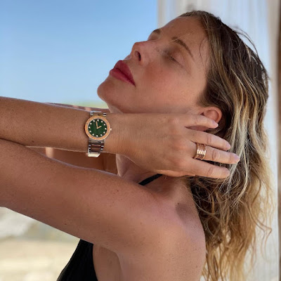 Alessia Marcuzzi orologio Bulgari foto Instagram