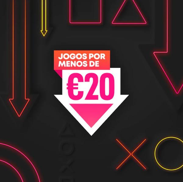 """Campanha """"Jogos por menos de 20€"""" regressa à PlayStation®Store"""