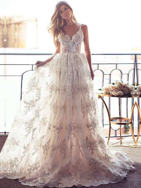 http://www.millybridal.org/a-line-v-neck-tulle-sweep-train-with-appliques-lace-wedding-dresses-milly00023026-13978.html