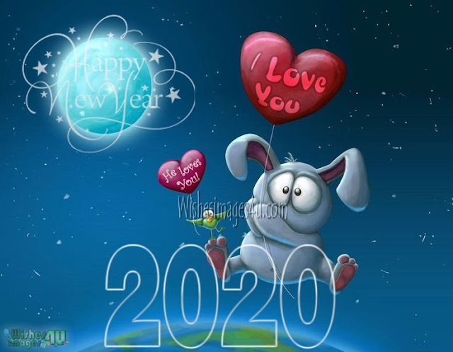 Happy New Year 2020 HD Love Pics Download For Whatsapp Facebook DP