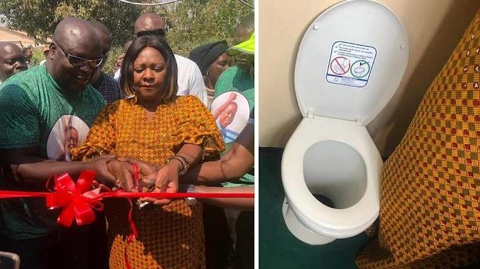 Zambian MP inaugurates public toilets, social media dismayed