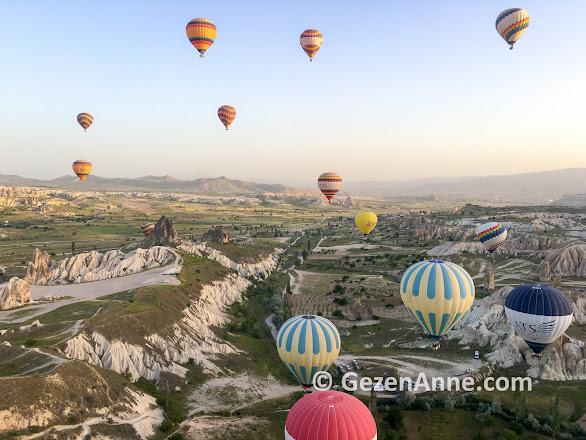 Kapadokya Balloons ile Kapadokya'da balon turu