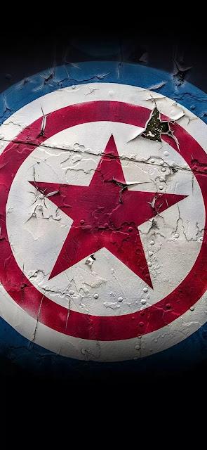 captain america shield hd wallpaper