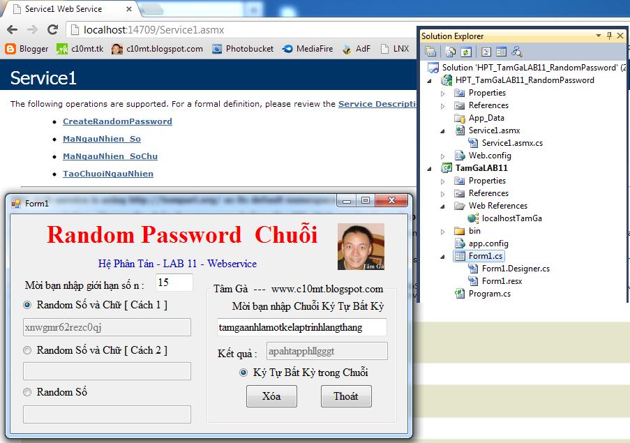 Hệ Phân Tán Random Password Chuỗi