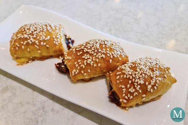 Baked Pork Pastries (char siu sou) at Summer Palace at Edsa Shangri-La, Manila
