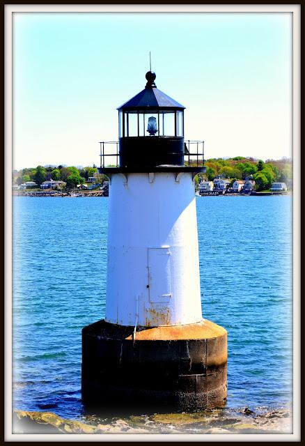 Fort Pickering, Lighthouse, Winter Island, Salem, Massachusetts, shadow