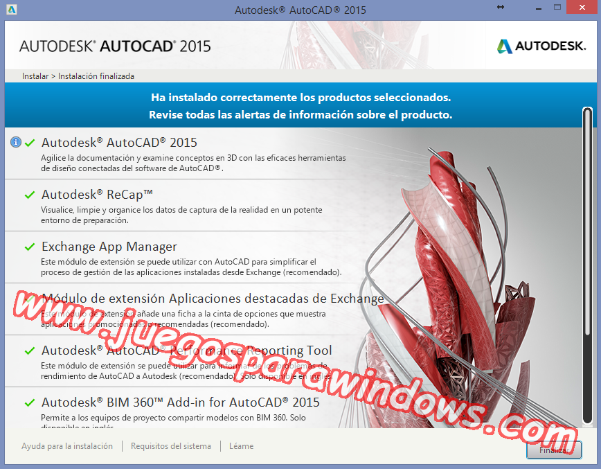 AutoCAD 2015 Full PC ESPAÑOL INGLES 32 y 64 Bits (XFORCE) 7