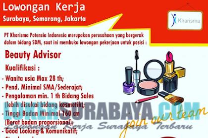 Open Recruitment di PT. Kharisma Potensia Indonesia Surabaya Terbaru Juni 2019