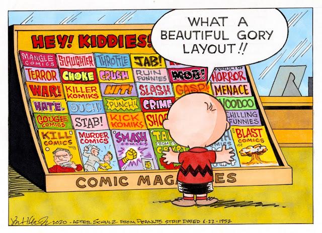 Charlie Brown and comics