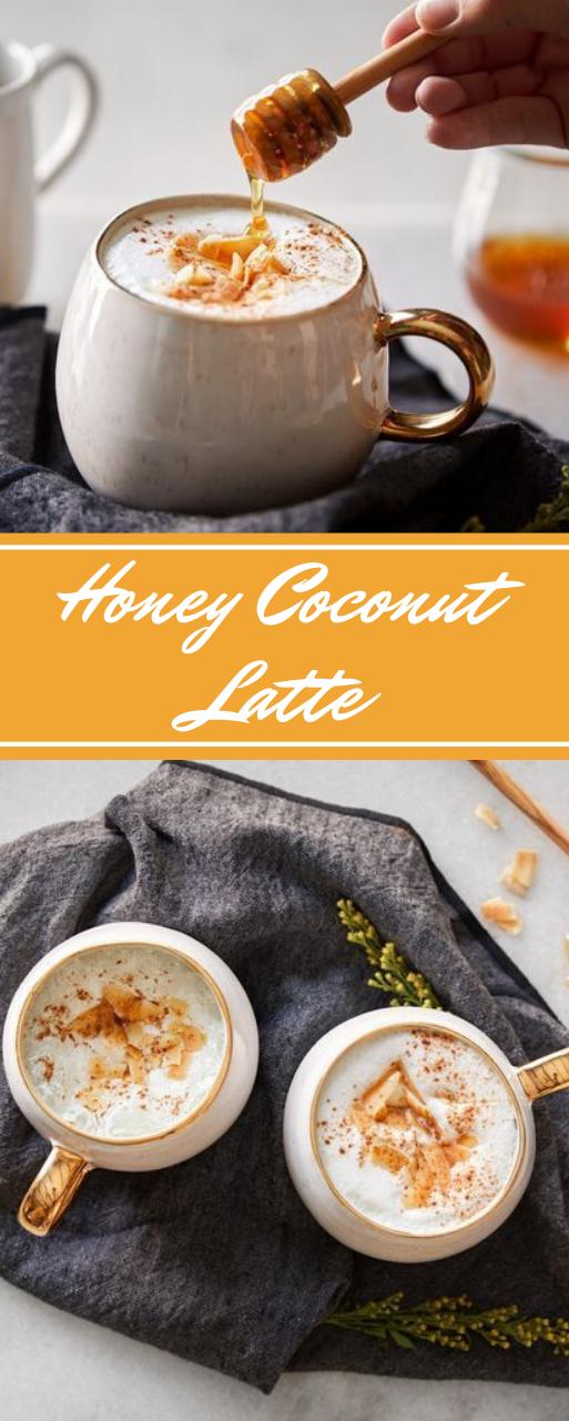 Honey Coconut Latte #drink #latte #cocktail #coconut #easy