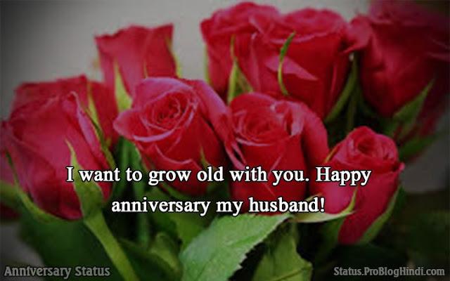 anniversary status in hindi