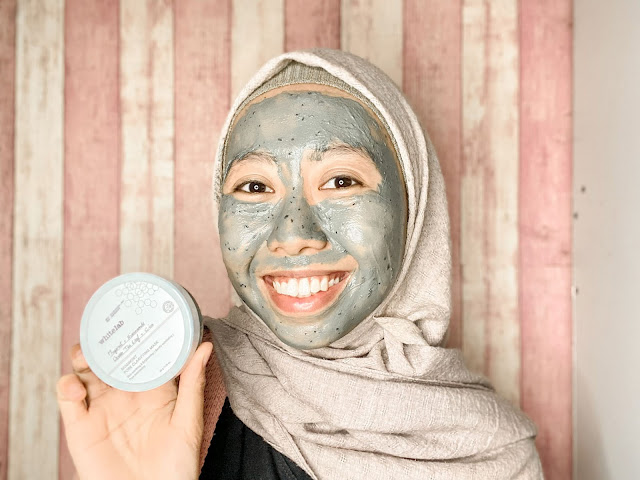 first impression nyobain whitelab mugwort clarifying mask