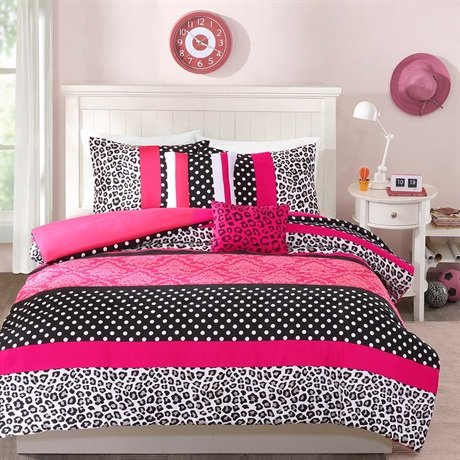 pink leopard print bedroom pink zebra amp leopard print comforter and bedding sets 16749