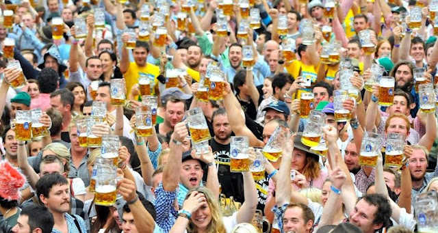 Munich Oktoberfest emits higher methane flow than Boston