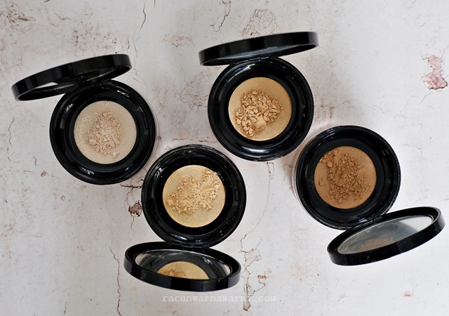 Review dan Swatch Looke Holy Smooth & Blur Loose Powder