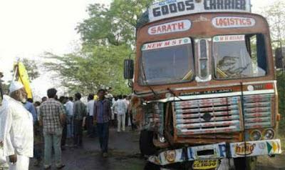 बेकाबू ट्रक ने खुशियों को बदला मातम में, डांस कर रहे बाराती की मौत, दो घायल