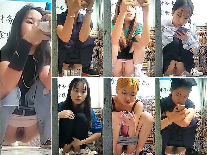 Voyeur Bar Panoramic Doorless Women Toilet 4 - idols