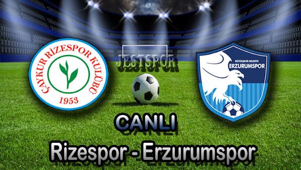 Rizespor - Bşb Erzurumspor Jestspor izle