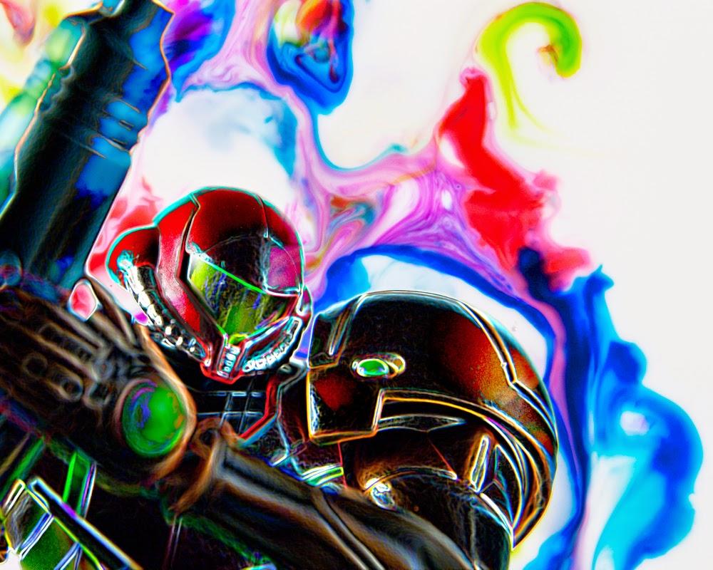 Fine Art of Samus Metroid Toy