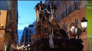 Vídeo del Cristo del Descendimiento de Cádiz en la Semana Santa 2019