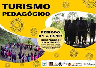 SENAR/SP  e Prefeitura da Ilha abrem inscrições  para curso de Turismo Pedagógico no Boqueirão Sul