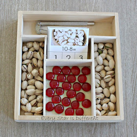 Chinese New Year Pistachios Subtraction Clip Card Activity