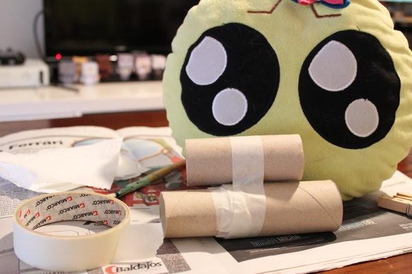 Cómo hacer nubes con papel higiénico reciclado