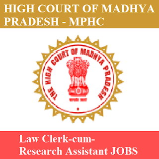 High Court Madhya Pradesh, MPHC, high court, Law Clerk, Clerk, Graduation, MP, Madhya Pradesh, freejobalert, Sarkari Naukri, Latest Jobs, mphc logo