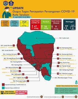 Press Release COVID-19 Tarakan 15 Juni 2020 - Tarakan Info