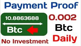 Payment proof, New free bitcoin mining site 2020, Mine 0.00611 btc