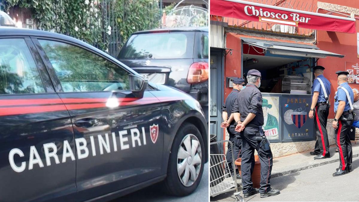 Carabinieri servizio anticrimine Picanello